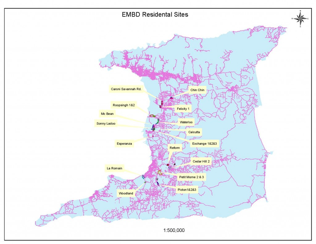 EMBD Residential Map
