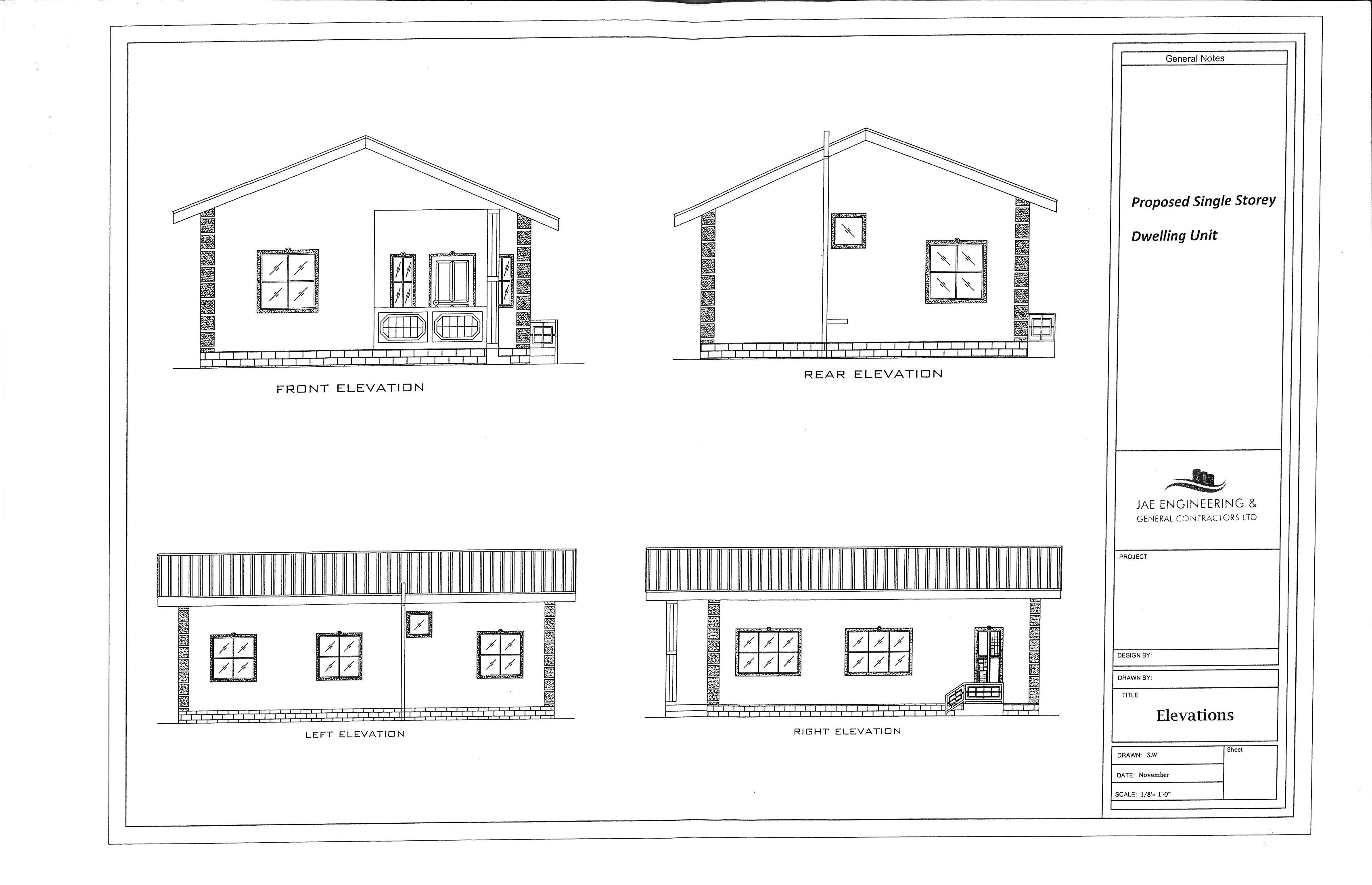 House Plans For Trinidad And Tobago House Plans